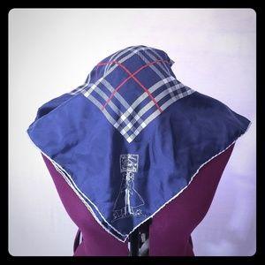 EUC Authentic Vintage Burberrys silk scarf